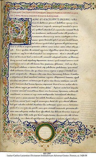 Lactancio y la Historia: Algunos aspectos de la historiografía romana presentes en el De Mortibus Persecutorum.   Literatura latina   Scoop.it