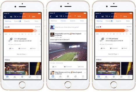 SPORTNEXT   Facebook Sports Stadium: de nummer één second screen-app voor sportfans?   socialmediasport   Scoop.it