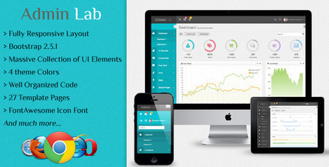 Admin Lab Responsive Admin Dashboard Template Download | PremiumTemplatesDownload | Learning objects | Scoop.it