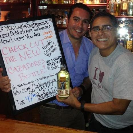 """Cristian sur Twitter : """"Last Thursday with Julio Bermejo at Tommy's Mexican Restaurant with the new #tequila #cazadores bottle @tcazadores http://t.co/DKGCJxzXz6""""   Tequila   Scoop.it"""