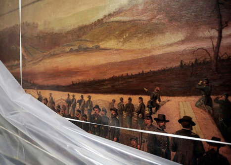 Forgotten Civil War Mural Rediscovered in Storage | Vloasis awesome sauce | Scoop.it
