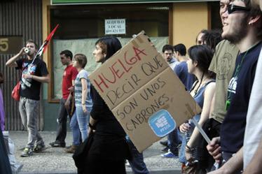 29M: Mucha huelga, a pesar de la policía :: Diagonal Aragón | #Vada29M | Scoop.it