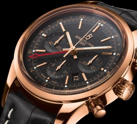 Breitling Transocean Chronograph GMT   Watch Critic   Watch Magazine   Scoop.it