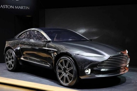 The Aston Martin DBX Concept Is Awesome! | Technology | Scoop.it