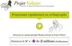 Projet Voltaire : un site et une application mobile pour améliorer son français | ACTU-RET | Scoop.it