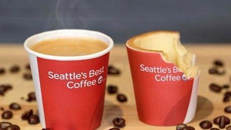 On va bientôt vous servir des tasses comestibles dans certains restaurants   On n'arrête pas le progrès !   Scoop.it