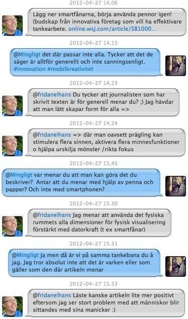 Användning av Twitter i skolundervisningen « Frida Nelhans Blogg | Folkbildning på nätet | Scoop.it