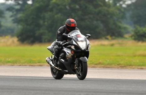 Stuart Gunn Is World's Fastest Blind And Disabled Biker With 167.1 ... | Disability | Scoop.it