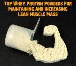 Top Whey Protein Powders For Maintaining and Increasing Lean Muscle Mass | justin kavanagh Fitness | Scoop.it