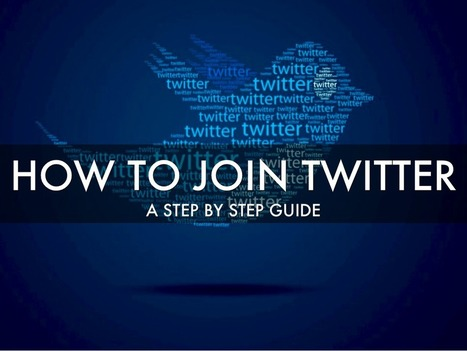 How To Join Twitter - Instructional Tech Talk | Edtech PK-12 | Scoop.it