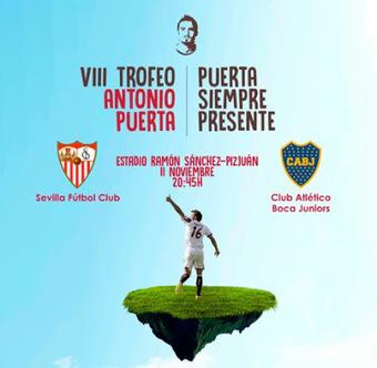 VIII Trofeo Antonio Puerta: Sevilla FC Vs Boca Juniors | Noticias Sevilla FC | Scoop.it