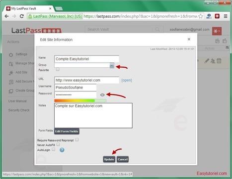 [Tutoriel] Protégez tous vos mots de passes avec LastPass ! | netnavig | Scoop.it
