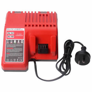 Li-ion Battery Charger for Milwaukee M18 48-11-1820 1828 1815 1828 1840 | Cordless Drill Battery Shop | Scoop.it