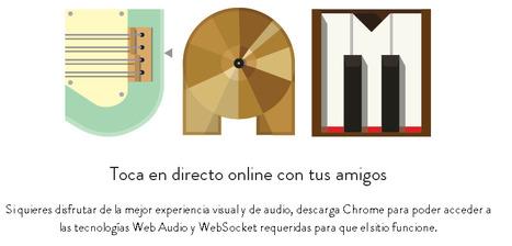 Crear música online con tus amigos desde Chrome con JAM With Chrome por @luz_tic | EDUDIARI 2.0 DE jluisbloc | Scoop.it