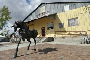 Canyon Rd. gallery adds Railyard location | what to do in New Mexico | Scoop.it