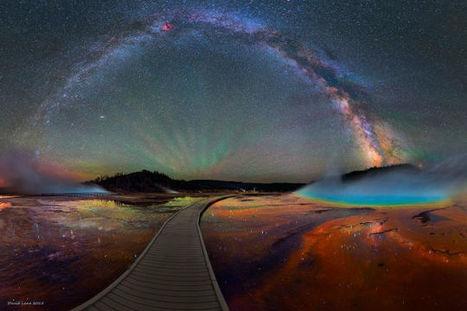 The Milky Way Over Yellowstone is Impossibly Beautiful | Lo que leo y otras astrologías. | Scoop.it