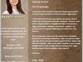 Resume Template for Microsoft Word to Download | Free Printables Templates to Download | Scoop.it