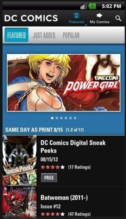 Los mejores lectores de cómics para tablets - RedUSERS | Movies, TV, Books, Comics, Games | Scoop.it