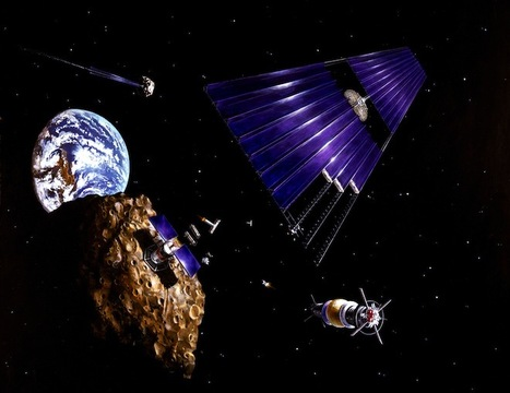 The Plan to Bring an Asteroid to Earth | Space matters | Scoop.it