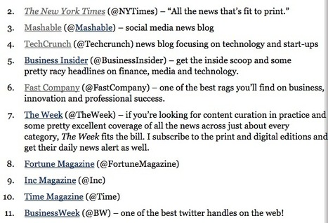 Top 30 Business and Marketing News Sources by Forbes | SocialMediaDesign | Scoop.it