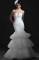 [RUB 13227,55] eDressit Очаровательное белое свадебное платье без бретелек (01115207) | wedding dress | Scoop.it