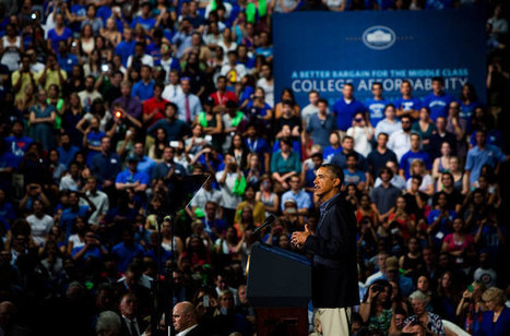 On Bus Tour, Obama Seeks to Shame Colleges Into Easing Costs | Article of the Week | Scoop.it