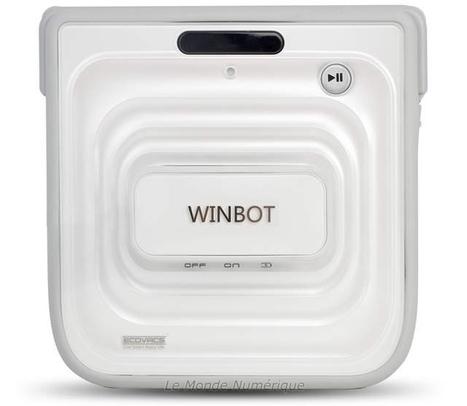 CES 2013 : Un nouveau robot laveur de vitre signé Ecovacs, le Winbot 7 Robotique robot laveur de vitres | Robotique de service | Scoop.it