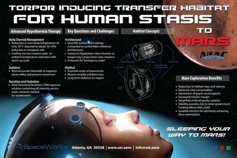 NASA is funding research on deep sleep for transporting astronauts to Mars   Futusrism   Scoop.it