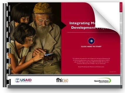 New USAID Handbook: How to Integrate Mobile Solutions into Development Projects | ICT Works | Conservation On The Ground: Leadership, Partnerships, Communities, Capacity | Scoop.it