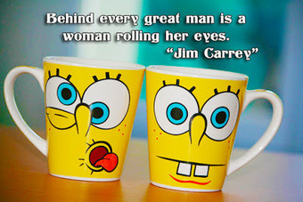 facebook Poste image quotes (Behind every great man is a woman rolling her eyes) | FULL HD (High Definition) Wallpapers, Pictures For Desktop Backgrounds & Facebook Timeline Cover | Quotes photos For Facebook | Scoop.it
