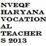 NVEQF Haryana Vocational Teachers Recruitment 2013 Notification | Best Students Portal | students9 | Scoop.it