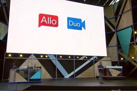 Google dévoile Allo, une messagerie dopée à l'intelligence artificielle | Usages professionnels des médias sociaux (blogs, réseaux sociaux...) | Scoop.it