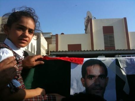 Jaffar Hasan's daughter at her father's funeral. | Human Rights and the Will to be free | Scoop.it