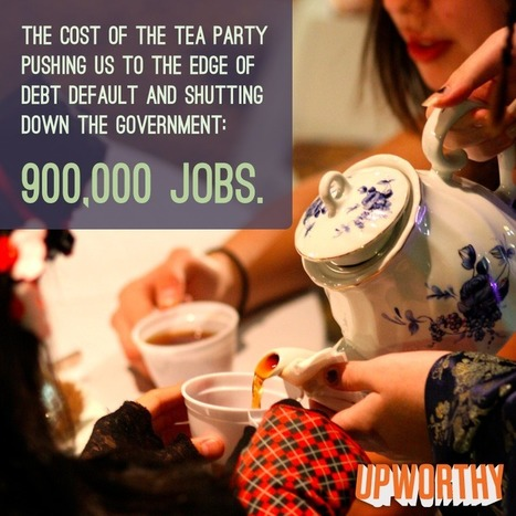 The Real Cost Of The Tea Party's Shenanigans In One Horrifying Graphic | Daily Crew | Scoop.it