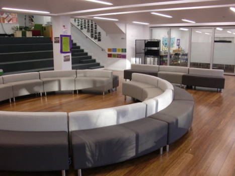 Imagine Learning, The circle lounge was our answer to creating... | SocialLibrary | Scoop.it