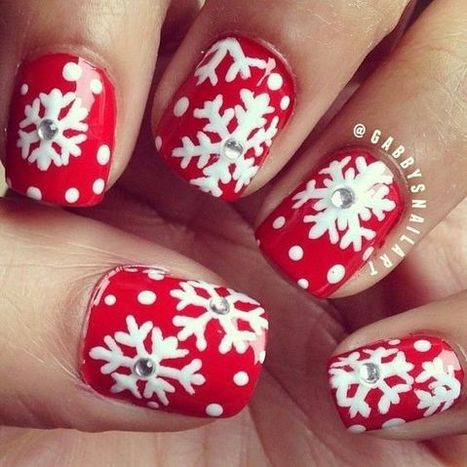 Christmas nails design 15 – Picturing Images | Fashion Home decor Tattoos Beauty Pictures | Scoop.it
