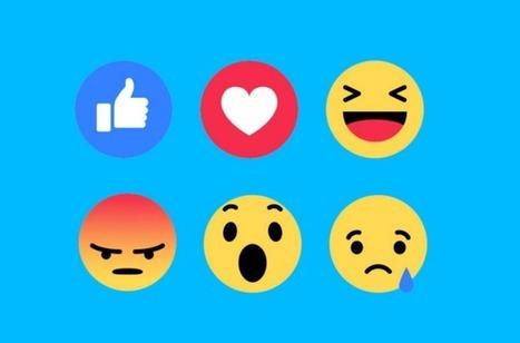 Moins de 3% des interactions sur Facebook concernent les 5 nouvelles Réactions | CommunityManagementActus | Scoop.it