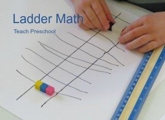 Drawing lines and ladders for math | Teach Preschool | Scoop.it