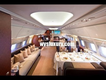 Airbus ACJ Interior Private Jet Charter Flight | Car Review Video and Service | Scoop.it