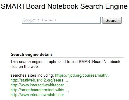 A Search Engine for SMART Notebook Files | Class Tech | Scoop.it