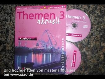 Themen aktuell 3: Deutsch als Fremdsprache - Zertifikatsband / Hueber Verlag  - Erfahrungsbericht - Hueber`s Deutsch als Fremdsprache - Band 3 - Kursbuch | DaF -Community | Scoop.it