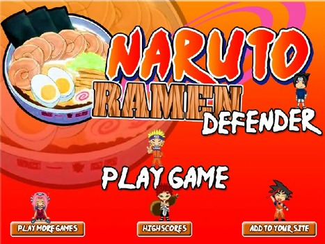 Naruto Ramen Defender | cartoon mini | Scoop.it