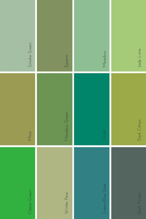 the evolution of green | Colour Trends - Tendències de Color. | Scoop.it