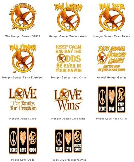 The T-Shirt Painter: The Hunger Games T-Shirts | Hunger Games Tshirt Designs | Scoop.it