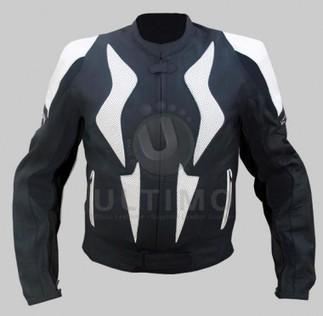 Black White Stylish Biker Jacket   You like leather jackets since nobody ignored it   Scoop.it