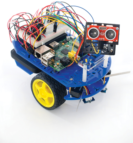 Build a Raspberry Pi robot with Linux User issue 132 | Linux User | Raspberry Pi | Scoop.it