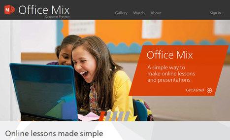 MIX transforme les présentations PowerPoint en formations interactives | Usages numériques et Histoire Géographie | Scoop.it