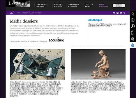 Le nouvel espace du Louvre pour Éduthèque est ouvert ! - Éduthèque | L'actu culturelle | Scoop.it