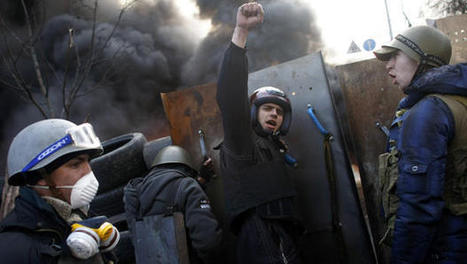 Ukraine leader offers concessions in wake of deadly Kiev violence | AP Government | Scoop.it