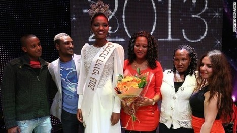 Yityish Aynaw: The first black Miss Israel | Journeys | Scoop.it